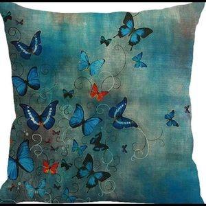 Pillow Cover- NEW- Butterflies